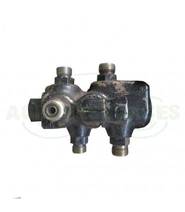Válvula hidráulica freno remolque usada Case 1533774C2