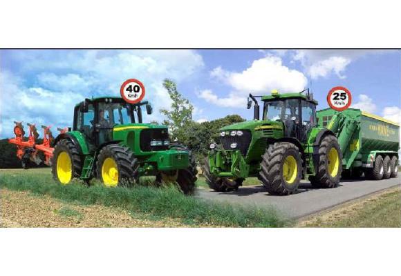 Normas de circulación para tractores agrícolas