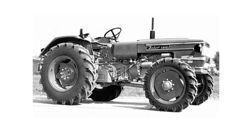 Los inicios del Tractor en España