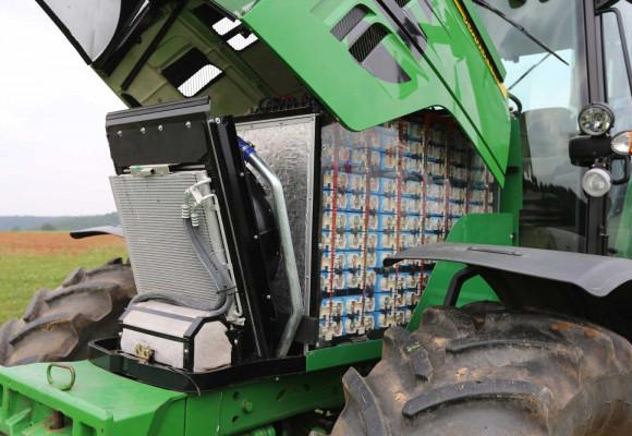 El tractor eléctrico, con la mirada en el futuro