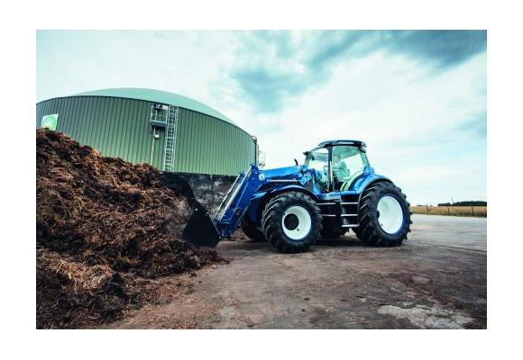 El tractor con motor a metano, una realidad